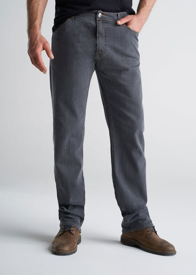 J1 STRAIGHT-LEG Tall Men's Jeans in Grey