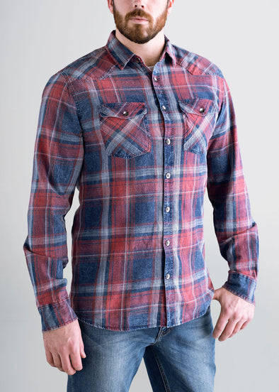 longjohn-and-sons-mens-indigo-wash-sumacred-navyplaid-front