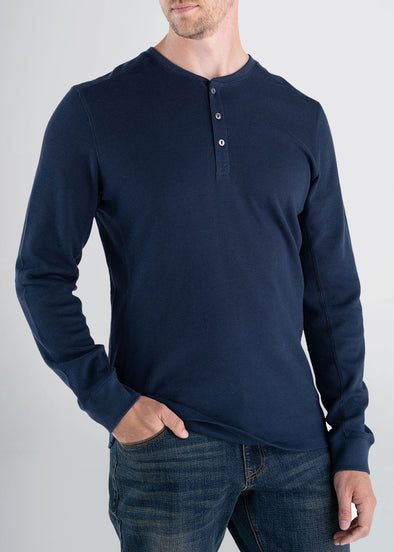 longjohnandsons-heavy-waffle-henley-navy-front