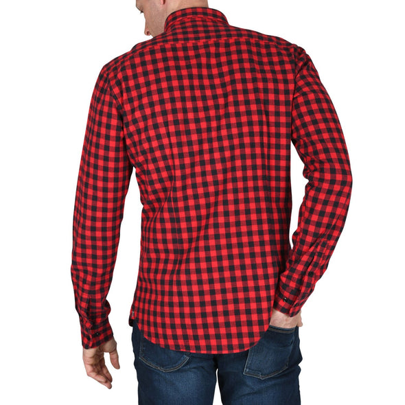 mens-red-check-flannel-shirt-back