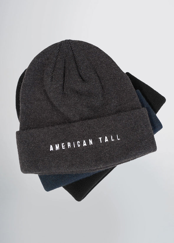 tall-mens-beanie-black-grey-blue-stacked