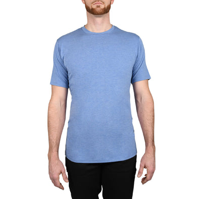 The Tri-Blend: Short Sleeve Tall Tees | Ocean Blue