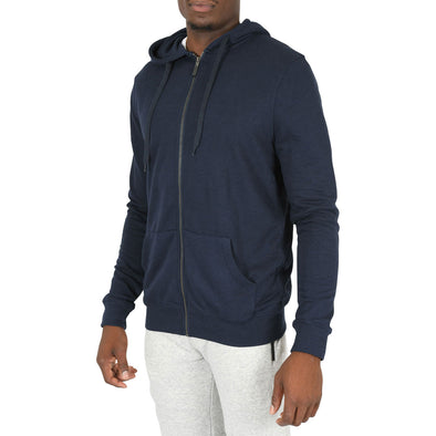 American Tall Zip Hoodie In Navy