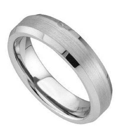 Tungsten Ring Men's Band