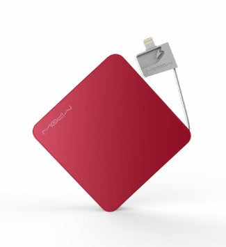 5200mAh powerbank with built-in Lightning cable