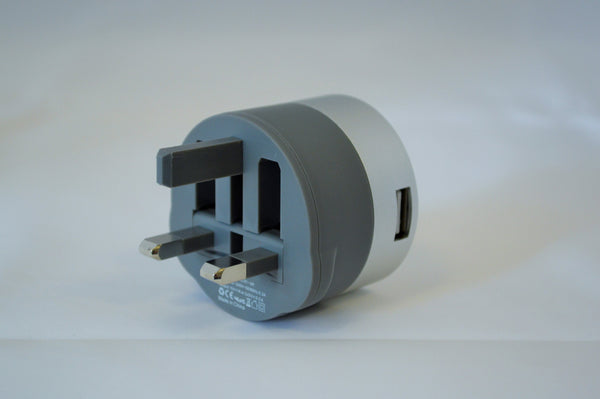 UK, double USB wall charger