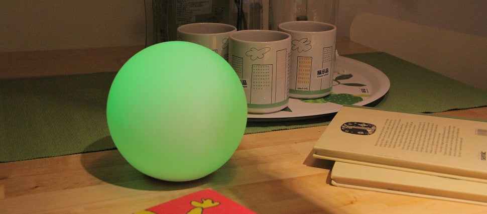 PLAYBULB sphere frosted glass lamp