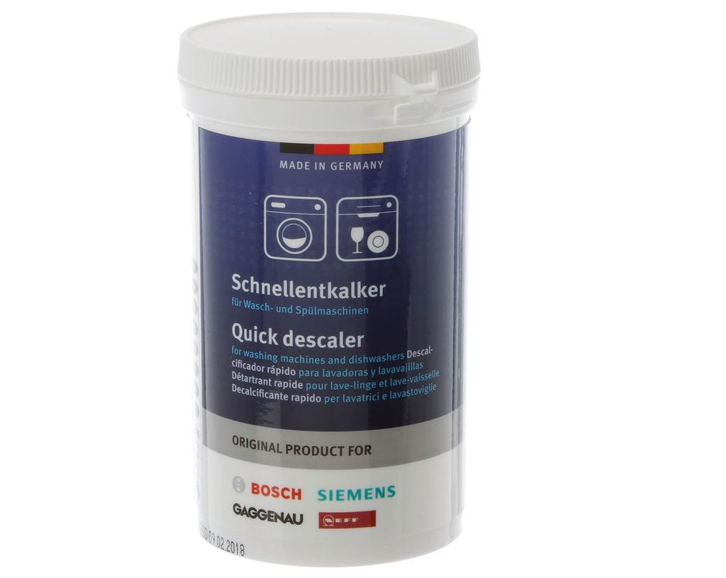 Bosch 00311918 Quick Descaler Powder for Washing Machines and Dishwashers - La Cuisine International Parts