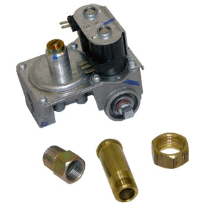 Bosch 00491709 Liquid Propane (LP) Gas Valve Valve Assembly With Jet - La Cuisine International Parts