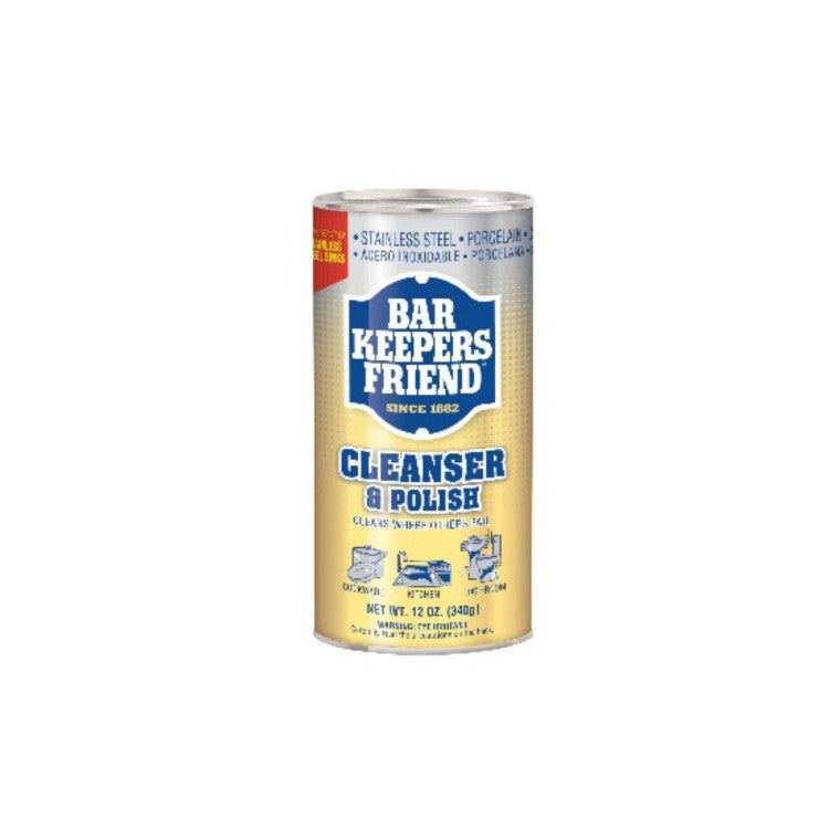 Bar Keepers Friend 26215514 Cleanser & Polish 2 Pack - La Cuisine International Parts