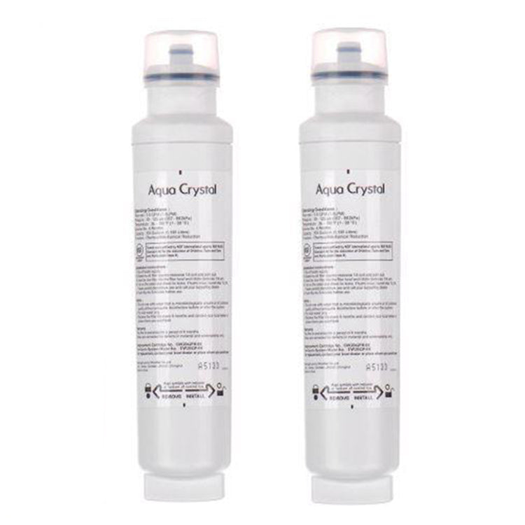 Smeg 693410677 Refrigerator Water Filter DW2042FR-09 SET OF TWO - La Cuisine International Parts