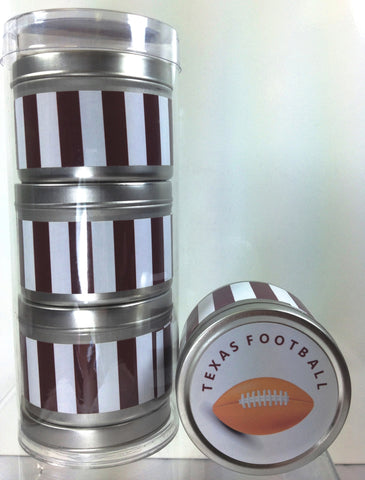 A & M Football Inspired - Set of 3 - 4 oz soy candles