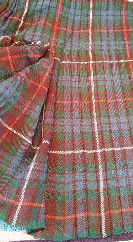 Blog #33 Set of the Pleats, A Facebook exchange