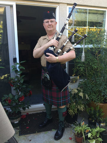 Eric Paterson Bag Pipe