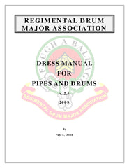 Cover Page Drum Major Rules for Dress
