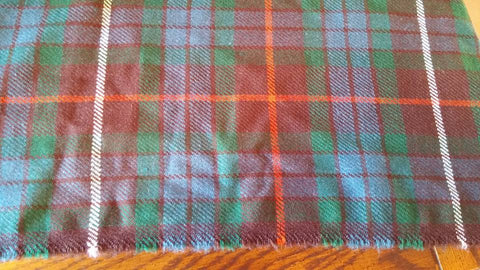 sett of the tartan