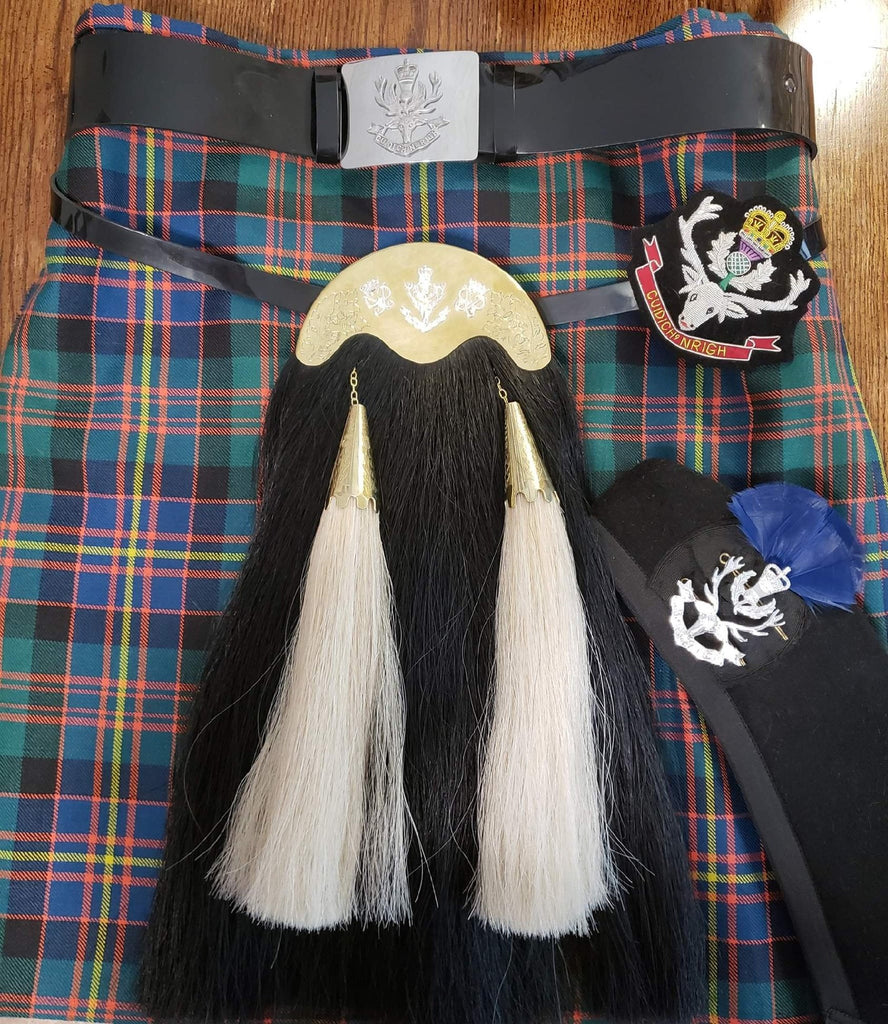 Queens Own Highlanders Hair Sporran