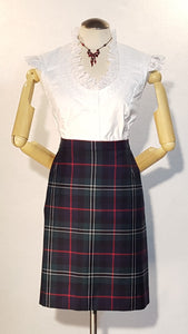Laura, Tartan (Plaid) Skirt