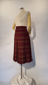Fiona, Tartan (Plaid) Skirt