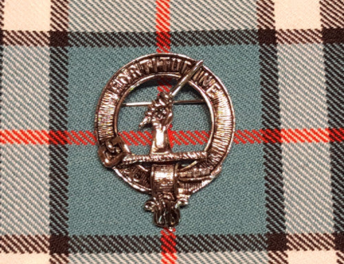 Clan Badge.  100% Lead Free Pewter