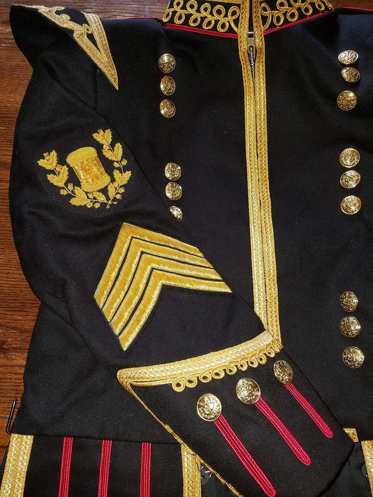 Fire Department Pipe Major Doublet