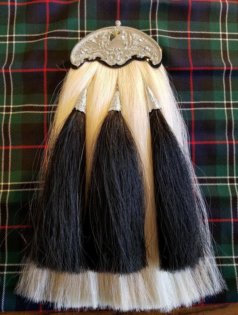 Pipers Hair Sporran, With Three Tassels