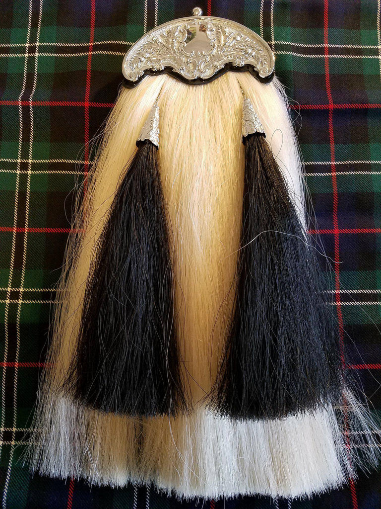 Pipers Hair Sporran With Two Tassels