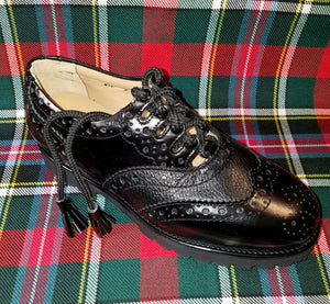 MyKiltmaker Orthotic Ghillie Brogues, Tread Style Sole