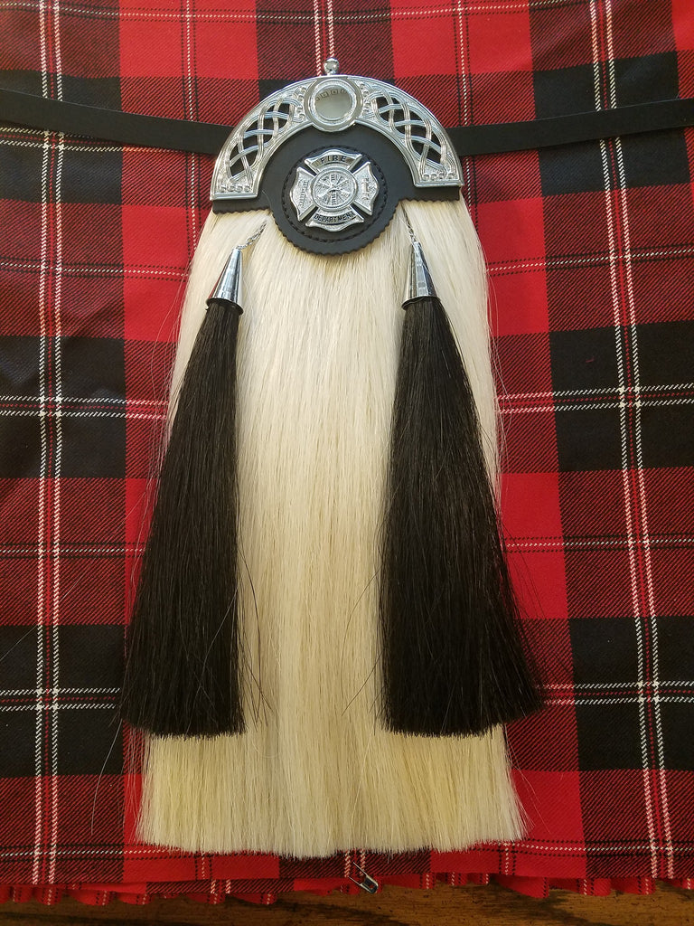 Fire Department Pipeband Hair Sporran