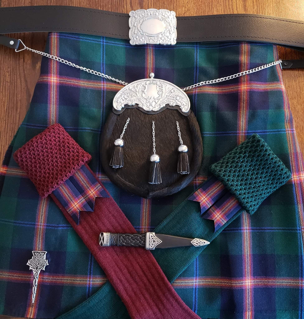 Wool 5 Yard Kilt (Hand Made/Machine Sewn)