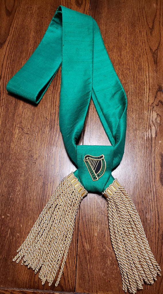 Emerald Society Officers Sash (Silk)