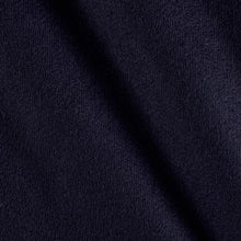 Navy Blue Melton Wool