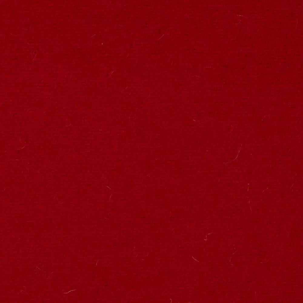Red Melton Wool