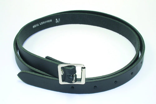 3/4 Black Leather Sporran Strap