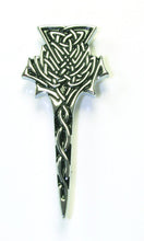 Highland Thistle Kilt Pin Chrome