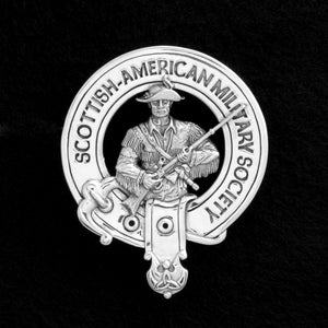 Scottish American Millitary Society (SAMS): Commemorative Belted Crest Badge