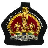 Queens crown badge