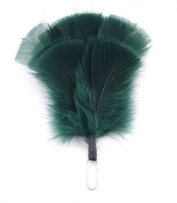 Glengarry Hackle, Flat Feather