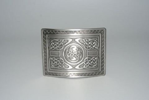 Highland Swirl Kilt Belt Buckle