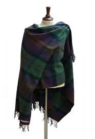 Scottish Serape Lambs Wool