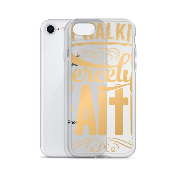 Walking In Faith iPhone Case - MyraMeilleure