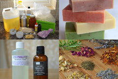 Ingredients to make Soap | Sabai Soaps UK
