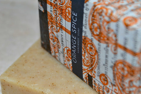 Orange Soap | Sabai Soaps UK