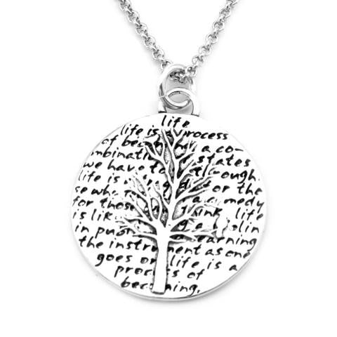 Kevin N Anna Studios Small Tree of Life Pendant