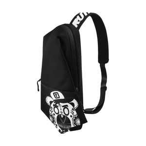 Black Sling Bag - Ruthless Paintball Products