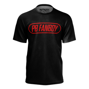 PB Fanboy Red Outline Tee
