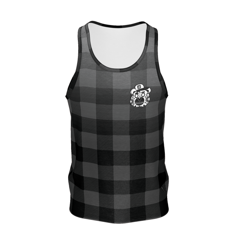 Plaid Sugar Tank Top