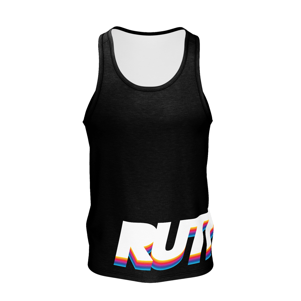 Retro Rainbow Tank Top
