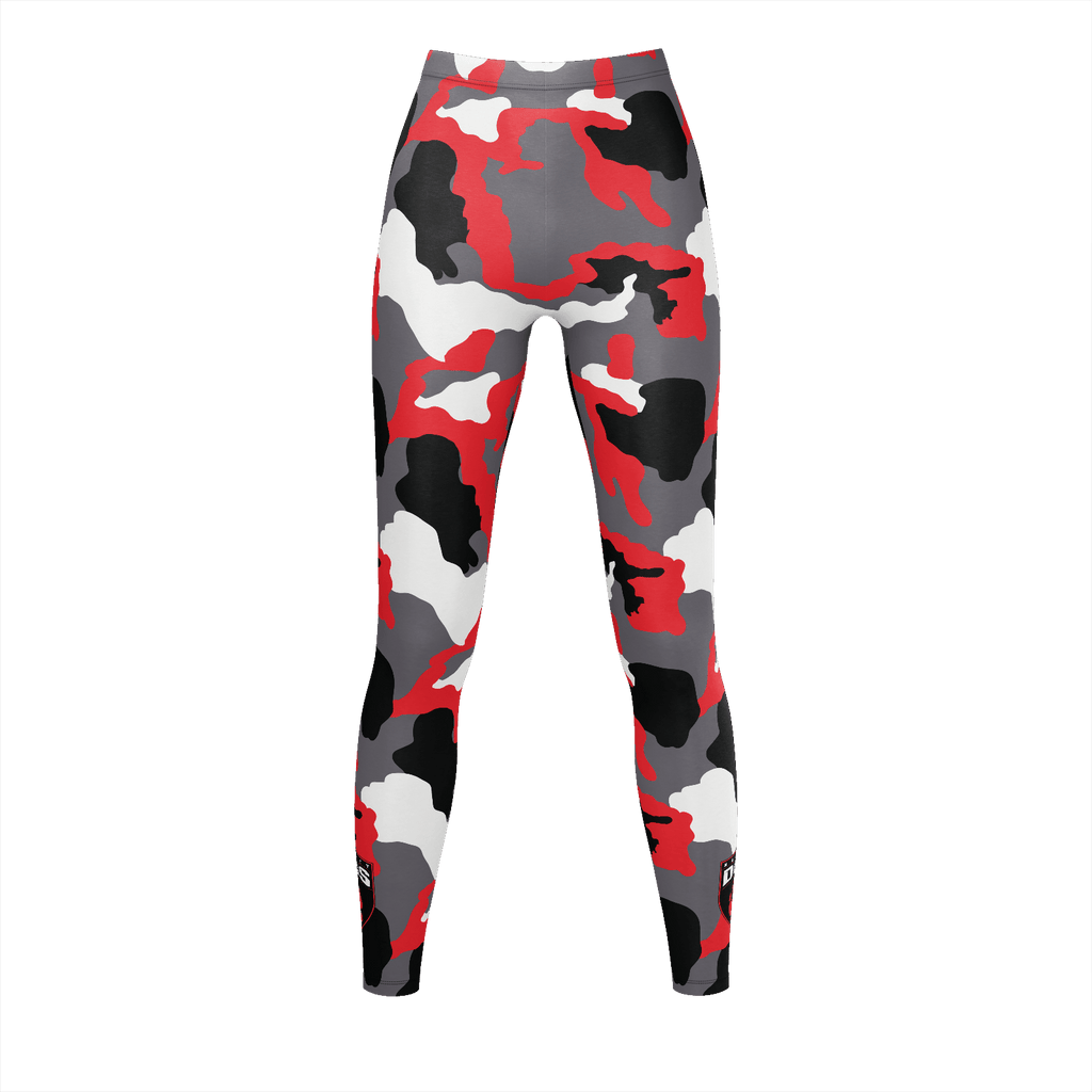 Naughty Dogs Rash Guard Red Camo - Ruthless Paintball Products