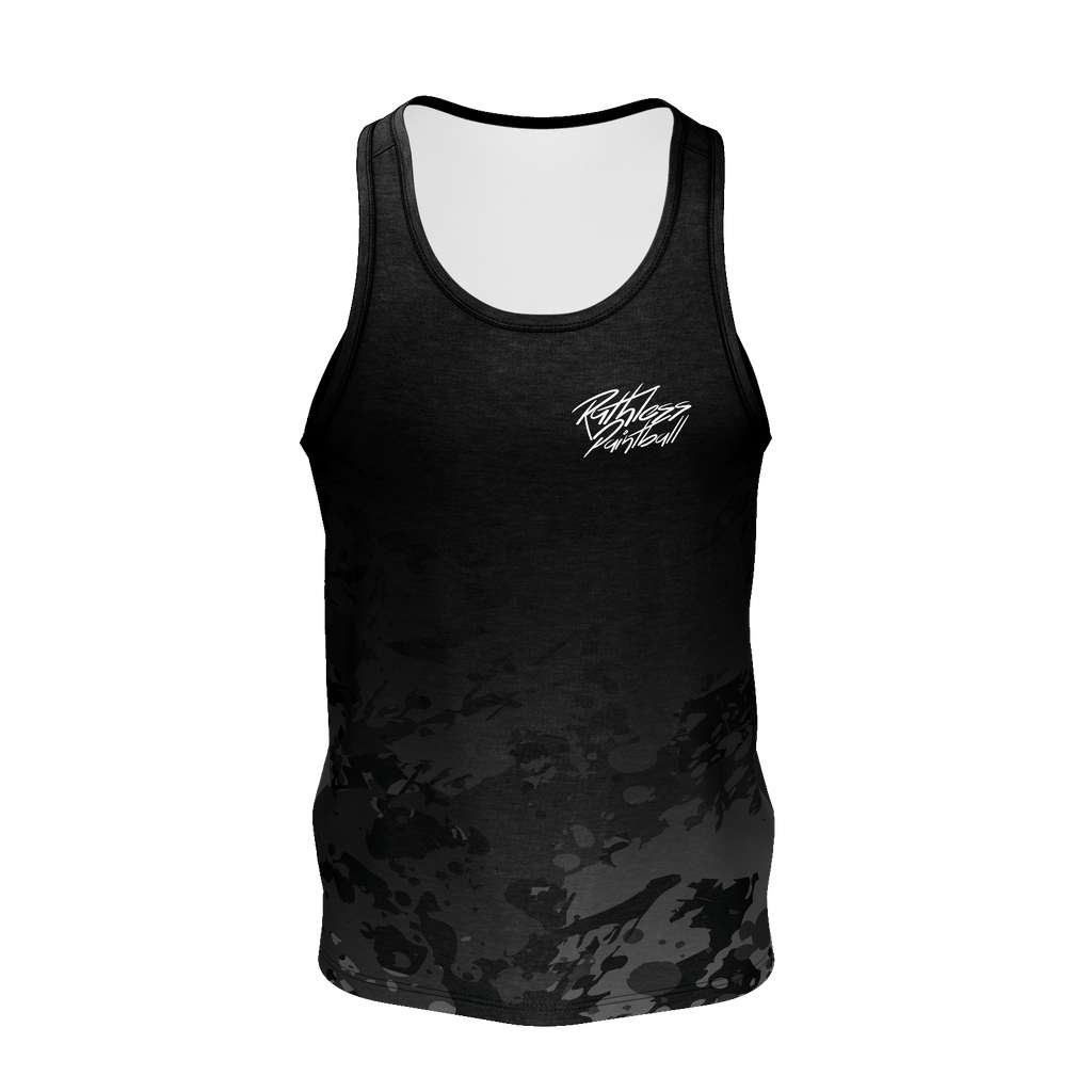 Splattered Camo Tank Top